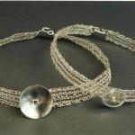 collier tissé à la manière Masaï 2000
